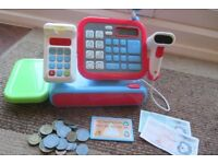 Early Learning Centre Cash Register with money