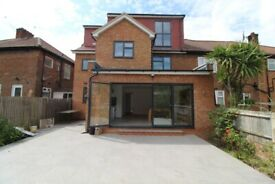 INCREDIBLE BRAND NEWLY REFURBISHED 3 DOUBLE BEDROOM GARDEN FLAT NEAR TUBE, TRAIN & 24 HOUR BUSES