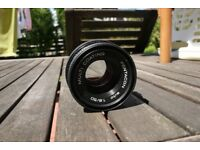 Pentacon f1.8 50mm Prime Lens (faulty)