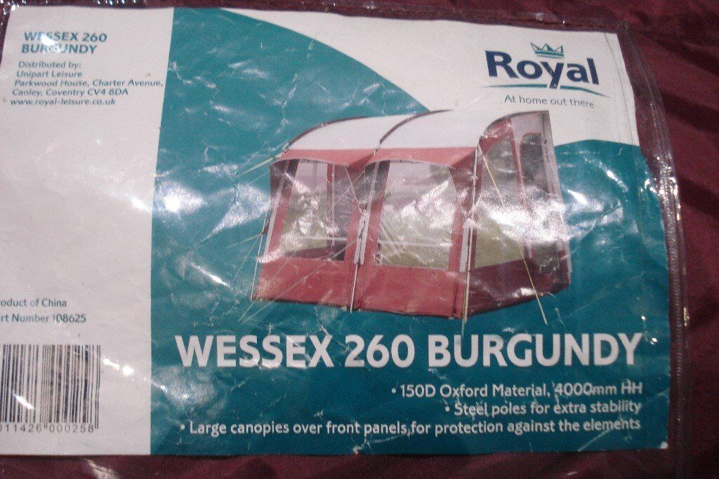 Royal Wessex 260 Awning | in Bournemouth, Dorset | Gumtree