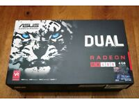 Asus RX480 DUAL FAN 4GB DDR5 with BOX RX 480