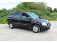 Chrysler Grand Voyager 7 seater 2005 manual