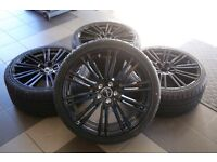 """20"""" inch Mercedes Benz W216 w211 w212 w221 W222 W230 W231 W215 w220 wheels set with tyres & sensors"""