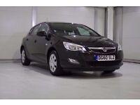 2011 Vauxhall Astra 1.4i 16v Exclusiv 5 Door Petrol In Black , New Shape