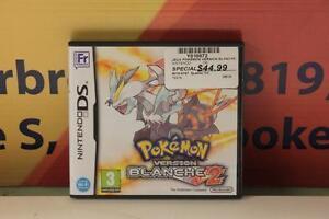 Jeux Pokémon Version Blanche 2 (en francais)-Instant Comptant-