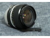 Nikon 24mm F2 AiS Lens MF FX-mount