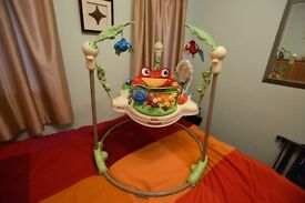 Fisher-Price Rainforest Jumperoo Almost New (RRP £120)