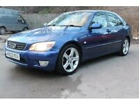 STUNNING LEXUS IS200 AUTO MINT CONDITION, MOT ,SERVICE HISTORY , MIDNIGHT BLUE, CHECK AD