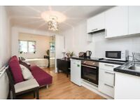 A self contained studio flat available in Camden for short let