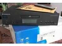 Cambridge Audio 740 up sampling CD player, Black