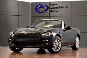 2017 Fiat 124 Spider Lusso CUIR TURBO AISIN CONVERTIBLE