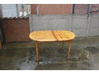 Pine Extendable Table