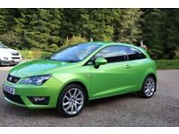 Seat Ibiza 1.2 FR TSI Sport (3 Door) Excellent Condition, £30 Road Tax, 6 Month MOT, Fully Serviced