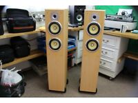 hi-fi tower speakers, in perfect condition.