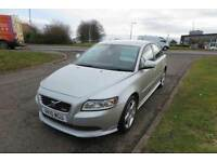 VOLVO S40 2.0 D R-DESIGN,2010, Leather,Alloys,Air Con,Cruise Control,6 Speed,48mpg,Excellent Car