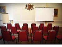 Hall and meeting room hire in Central London