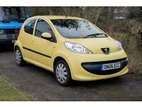 Peugeot 107, 5 Door 11 Months MOT, £20 Tax