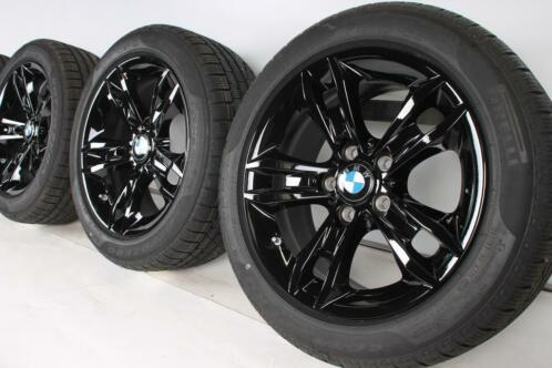BMW Winterbanden X1 E84 17 inch 319 star spoke RDC Schwarz
