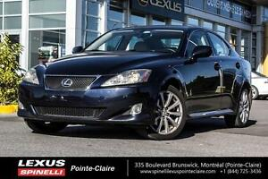 2008 Lexus IS 250 AWD CUIR TOIT OUVRANT One owner, Inspected, Mu