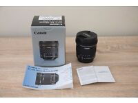 Canon EFS 10-18mm f4.5-5.6 IS STM lens MINT