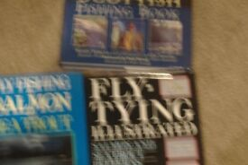 fishing books and flytying books for sale