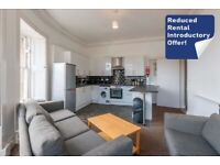 Bright and spacious, 5-bedroom, HMO flat with TV & broadband - available in April 2021!