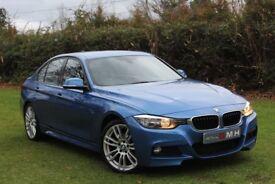 BMW 3 SERIES 2.0 318d M Sport 4dr (start/stop) (blue) 2014