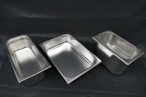 PANS FOR GELATO – different sizes