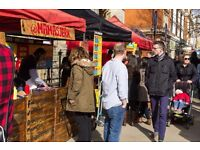 Buskers for Artisanal Food Market in Ealing, Sundays starting October 9