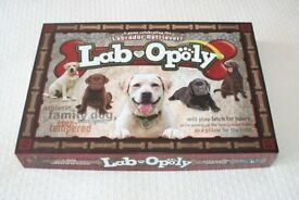 Lab-Opoly Board Game for Kids (Monopoly for dog lovers)