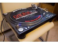 Stanton STR8-150 Turntable Direct Drive Deck + Groovemaster Gold Pro Cartridge
