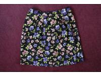 Women's Tu Flower pattern Skirt size 14,