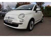 (62) Fiat 500 1.2 Lounge, £30 Road Tax, 10 months MOT, Very Economical, Ideal First Car