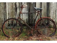 Old, Vintage and Retro Bicycles Wanted