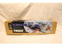 """[BRAND- NEW] THULE 746 SKI & SNOWBOARD """"CARRIER"""" (PAIR) BOXED, """"Only a few Remaining"""" BARGAIN."""