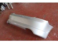 Honda civic Type-R Rear Prefacelift Satin Silver Bumper