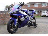 Yamaha R1 (2001) (Y Reg) For Sale. Good condition. Low miles