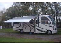 THOR VEGAS 25.2 AMERICAN 'A' CLASS MOTORHOME 5 BERTH REAR BED SLIDE-OUT.