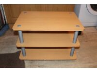 Three tier TV stand use but in good condition