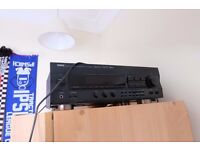 Yamaha AV receiver and Sony turntable (faulty)