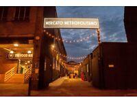 Mercati Metropolitano is looking for warehouse operatives, immediate start!
