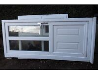 PVC WHITE EXTERNAL DOOR AND FRAME