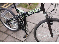 Folding bike almost new (Stowabike)