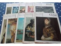 The Masters 1-10. Books on 10 great artists