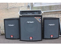 Peavey PA System - Bass Bins/Tops and Power amp