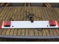 Trailer / Bike Carrier Rear Lighting Board