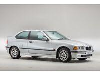 BMW 316i Compact. '99V, 90,000 miles, 12 Months MOT, Bluetooth