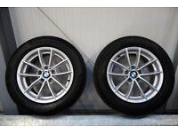"4 x 17"" BMW ALLOY WHEELS WITH PIRELLI TYRES"