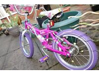 Childs bicycle 3-5 year old