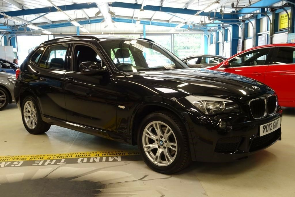 BMW X XDRIVED M SPORT OWNER ALCANTARA BLUETOOTH Black - Black bmw x1
